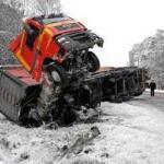 Wypadki ciężarówek 2014