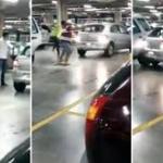 Ekstremalna bójka na podziemnym parkingu