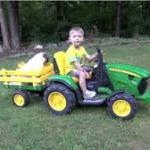 Idealna zabawka dla młodego rolnika