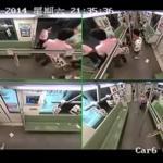 Tak ludzie w Chinach reagują na omdlenie w metrze