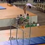 Gimnastyka z lat 70-tych