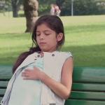 Mała ciężarna dziewczynka