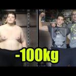 Stracił 100 kilo - niezwykła metamorfoza!
