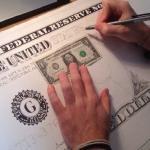 Giorgio Arcuri rysuje wielkiego dolara