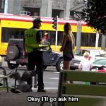 Proponowała seks polskim policjantom! (SA Wardęga)