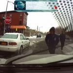 Kradzież auta z włączoną kamerką