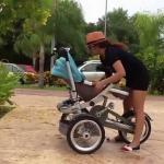 Niezwykły wózek dla dzieci