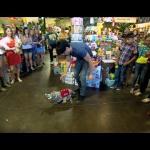 Criss Angel ożywił pluszaki w sklepie!
