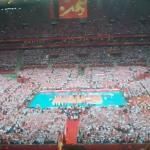 Hymn Polski na meczu otwarcia WCH 2014