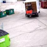 Transport wózka widłowego