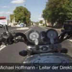 Niemiecki motocyklista i jego brutalny wypadek