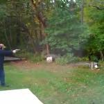 Strzelał z broni po raz pierwszy...