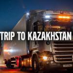 Ciężarówką przez Kazachstan