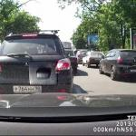 Samochody kontra motocykliści - STRASZNE!