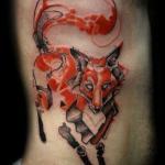 Hiperrealistyczne tatuaże - czapki z głów!
