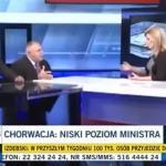 Chorwacja - niski poziom ministra