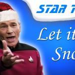 Captain Picard śpiewa piosenkę świąteczną