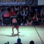 Tak wygląda show w wykonaniu bogów breakdance'u