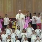 Taniec papieża Franciszka