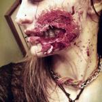 Idealny halloweenowy makijaż