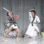 Pojedynek samurajów - sztuka prosto z Azji