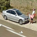 10 najdziwniejszych scen na Google Street View