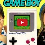 Dzieci reagują na Game Boya