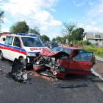 Warszawa - kierowca blokuje karetkę