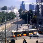 Czołowe zderzenie autobusów w Warszawie