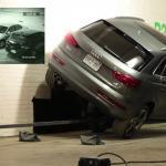 Audi Q3 próbuje ekstremalnego parkowania