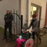 Reporterzy TVP zaatakowani w Przelewicach