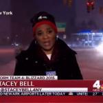 Dziennikarka strasznie blisko wypadku!