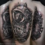 Benjamin Laukis - twórca surrealistycznych tatuaży