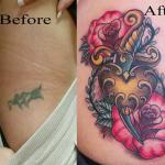 """""""Poprawione"""" tatuaże - świetne!"""