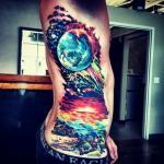 KOSMOS - najpiękniejsze tatuaże dla fanów patrzenia w niebo