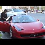 Podrywanie na Ferrari