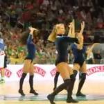 Boskie cheerleaderki dopingują sportowców