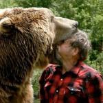 Walka z niedźwiedziem - o rety...