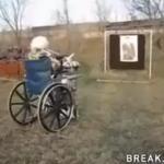Staruszka testuje MP40