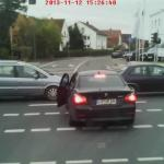 Kierowca BMW otrzymał to, czego pragnął