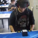 Marcell Endrey ułożył kotkę Rubika w 28.80 sekundy