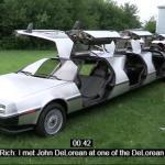 Zbudował kilka DeLoreanów!