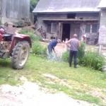 Mieszkanie na wsi z sąsiadem wariatem