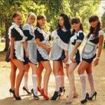 Rosyjskie maturzystki - SEXY!