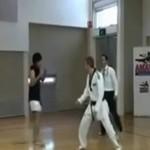 Taekwondo vs tajski boks - WALKA!