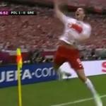 Mecz Polska-Grecja - GOL LEWANDOWSKIEGO