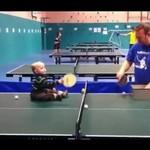 Przyszły mistrz ping ponga