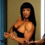 Marina Lopez - piersi & muskuły