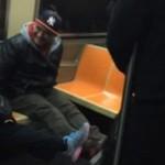 Szczur w nowojorskim metrze
