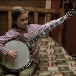 Ośmiolatek szaleje na banjo